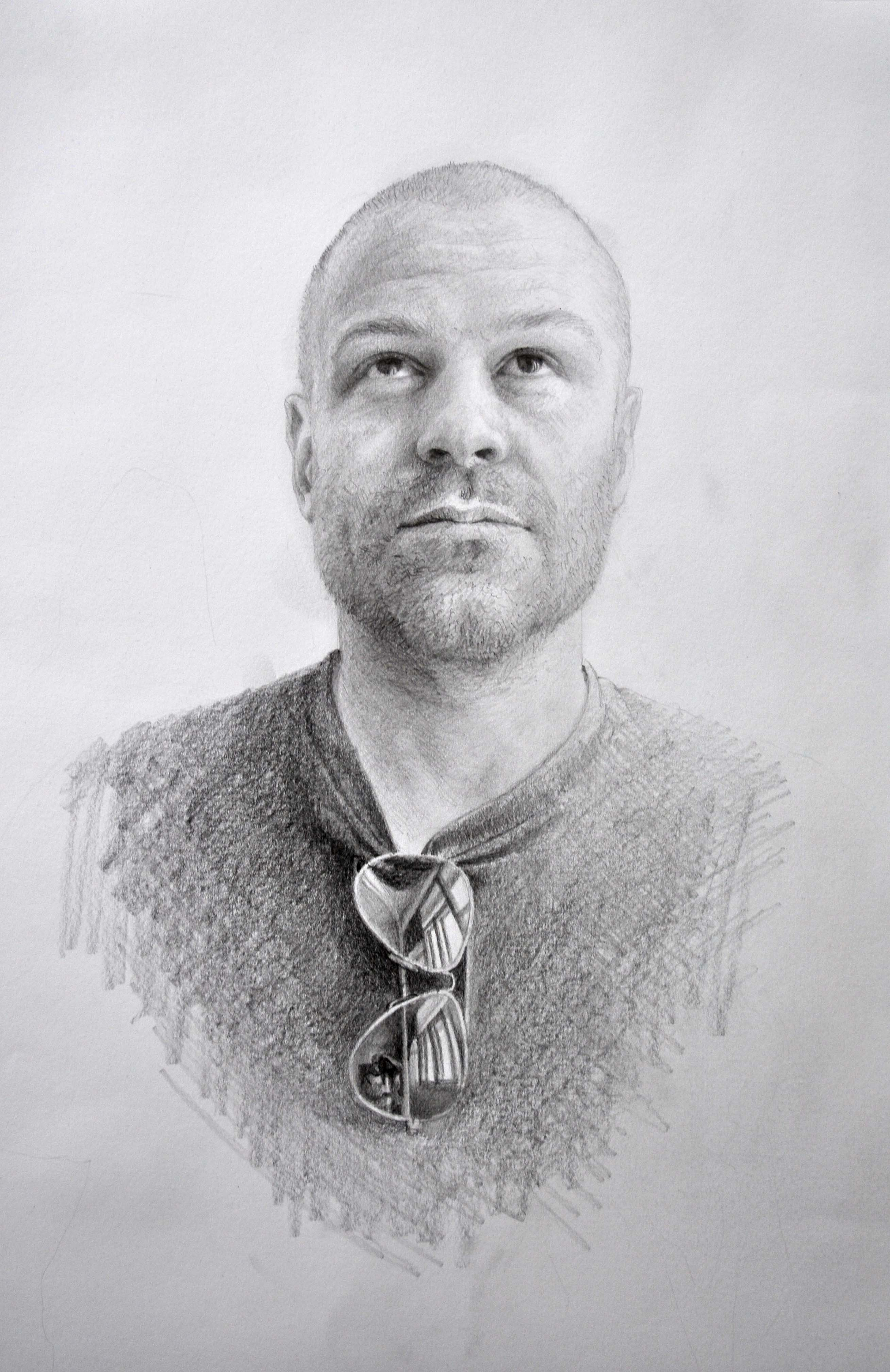 Michael Halak, Kiven, 2011, Pencil on Paper, 50x35cm