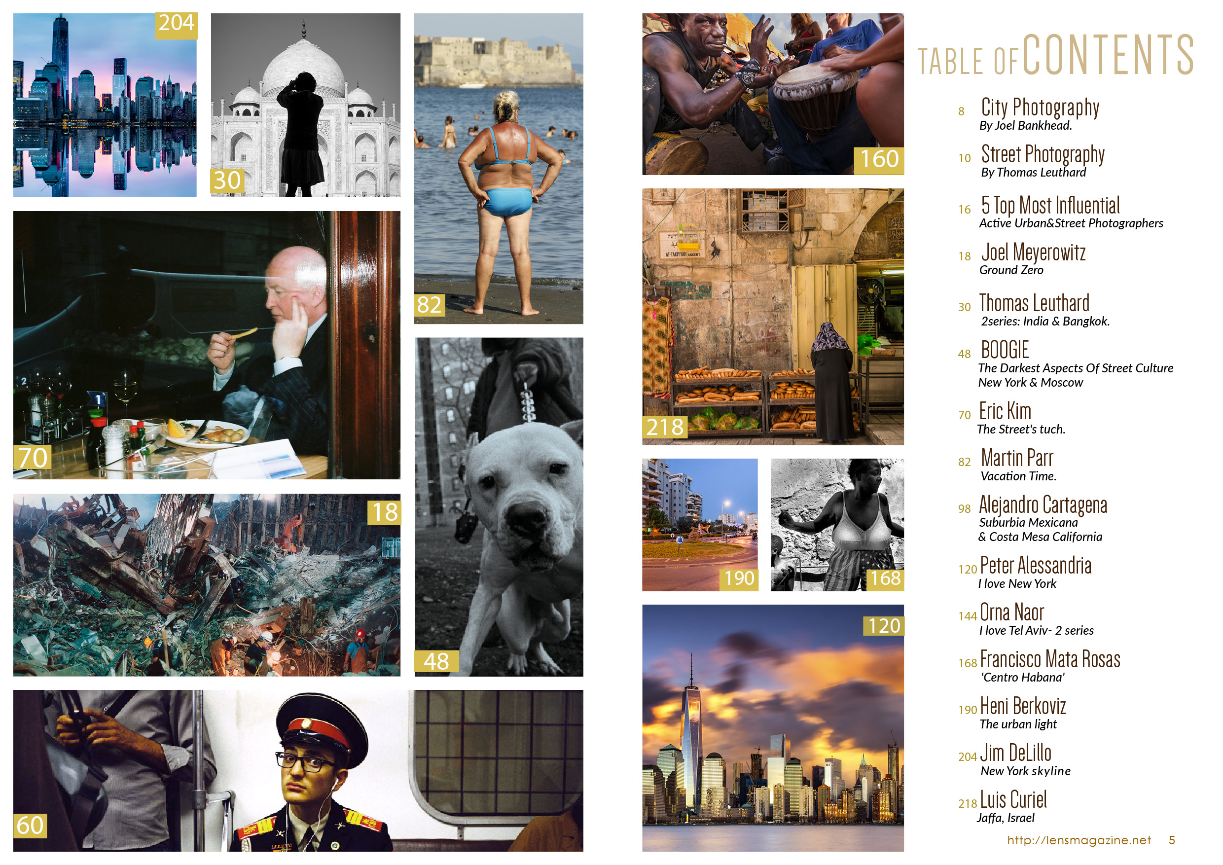 Lens Magazine Life In The City content