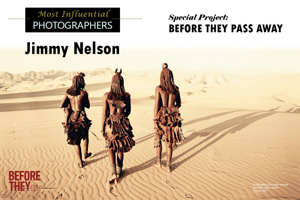 Jimmy Nelson on Lens Magazine