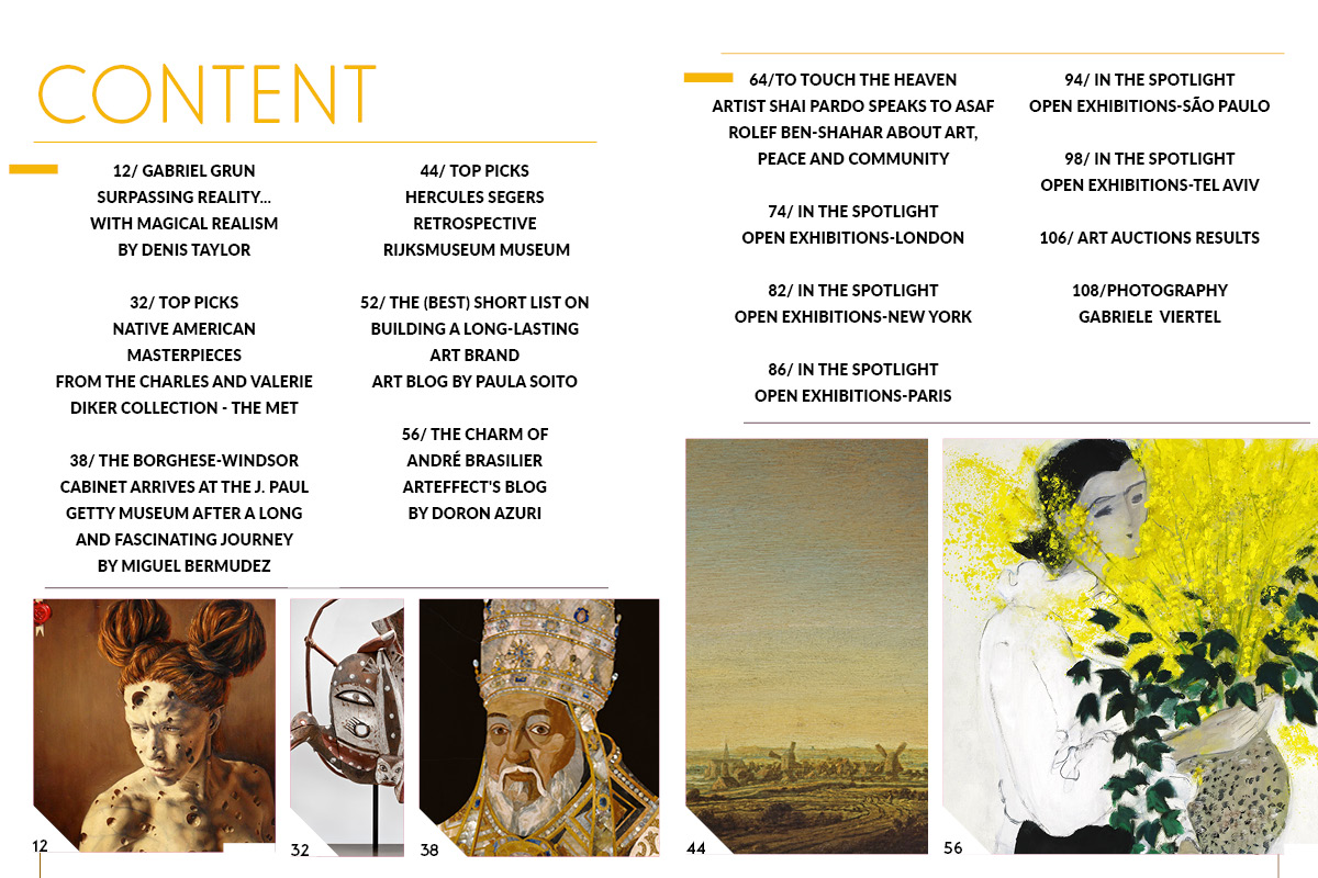 Art Market Magazine Issue 32 Content