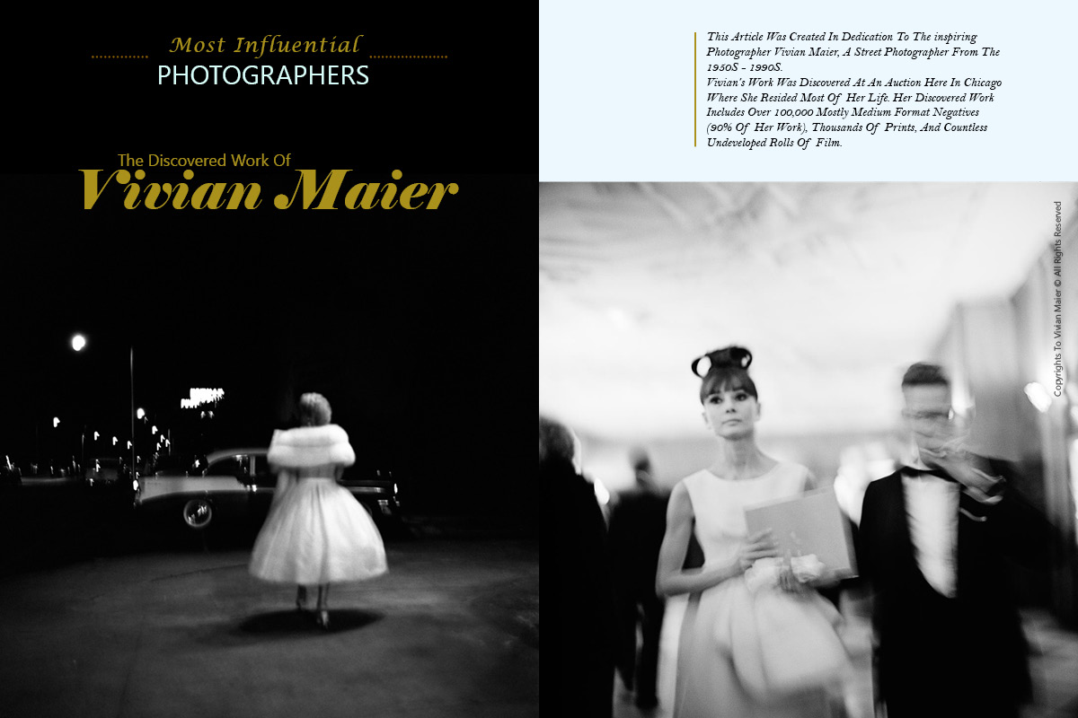 Vivian Maier on Lens Magazine Issue 27 Black and White