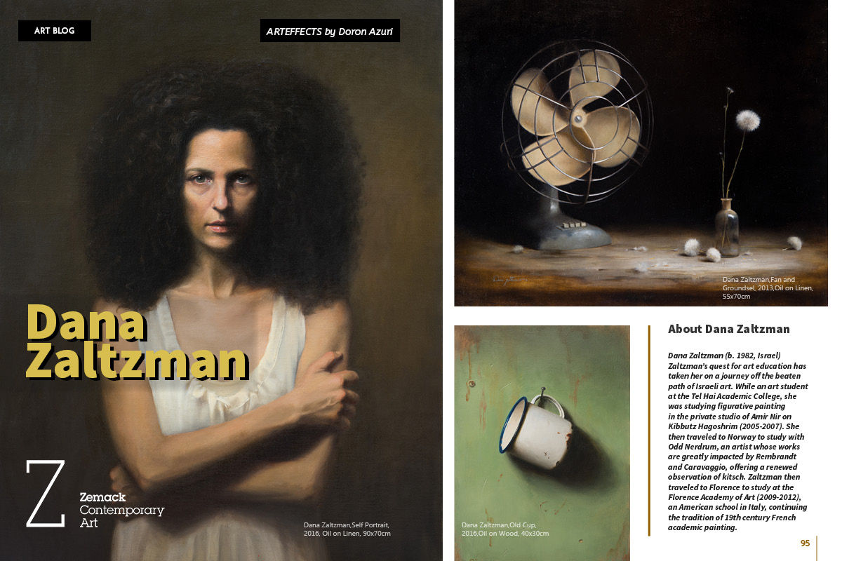 Dana Zaltzman on Art Market magazine