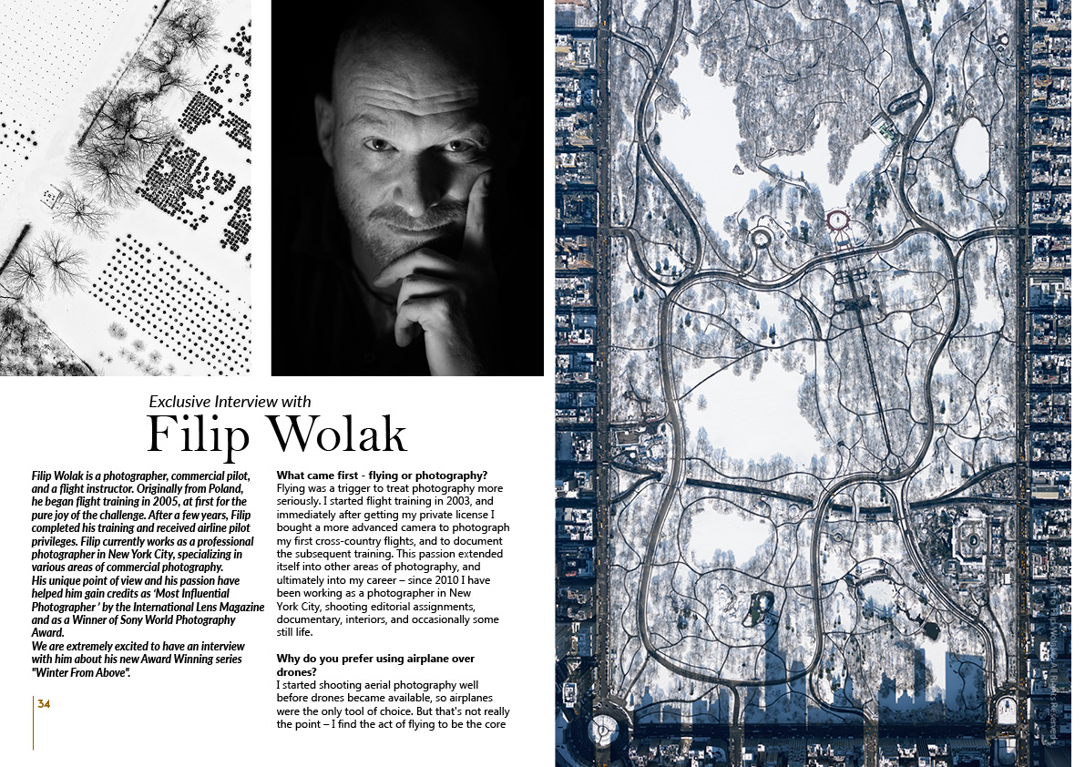 Filip Wolak on Art Market Magazine