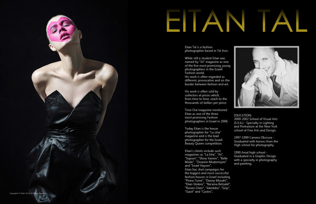 Lens Magazine Issue 29. Eitan Tal