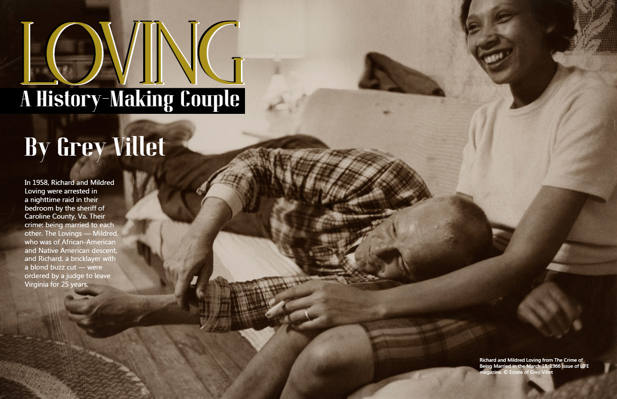 "Lens Magazine issue 30 , Grey Villet ""A History-Making Couple"""