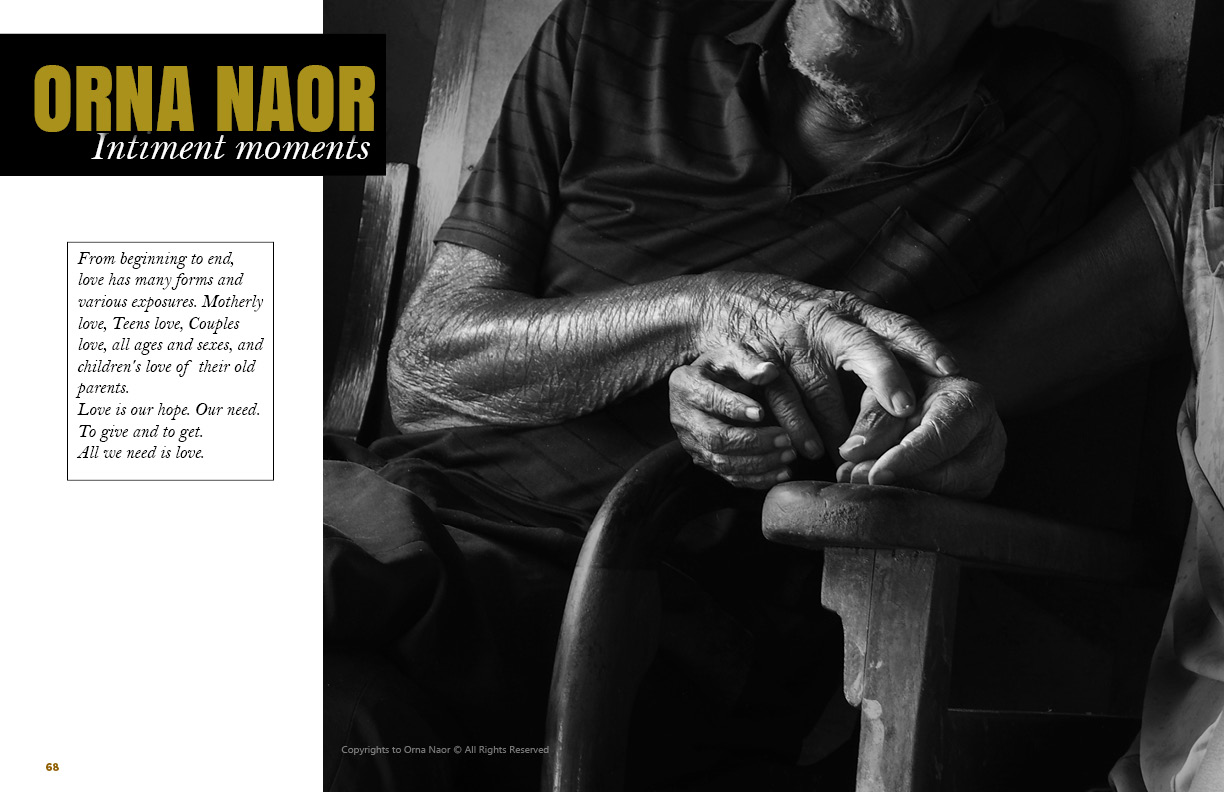 Orna Naor on Lens Magazine issue 30