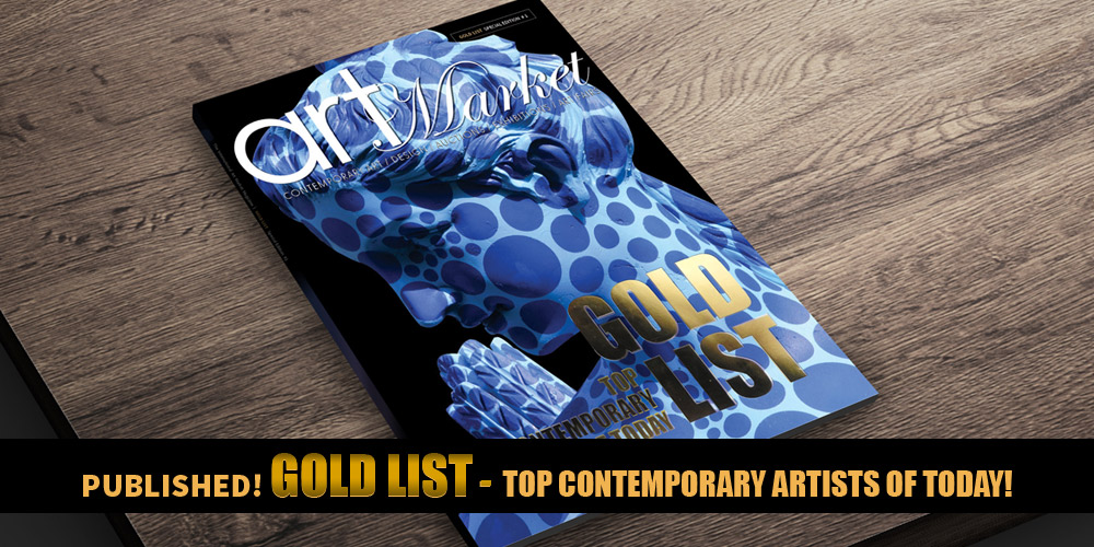 GOLD LIST Top Contemporary Artists of Today by Art Market Magazine
