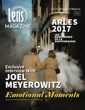 We are so pleased to publish this beautiful issue with a special coverage of Arles Photo Fair and an exclusive interview with one of the most known photographers in the world today, JOEL MEYEROWITZ