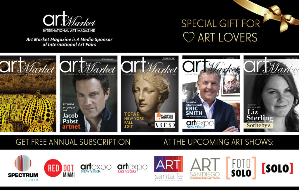 Art Market Magazine at International Art Fairs