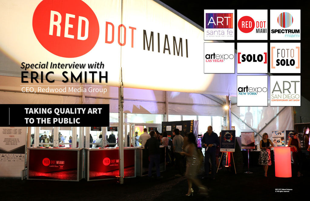 Red Dot Miami. Eric Smith Interview at Art Market Magazine Issue 37