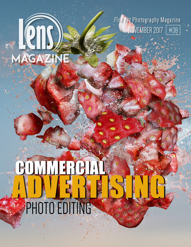 Photography Magazine. Lens Magazine Issue 38. Commercial and Advertising, Photo Editing